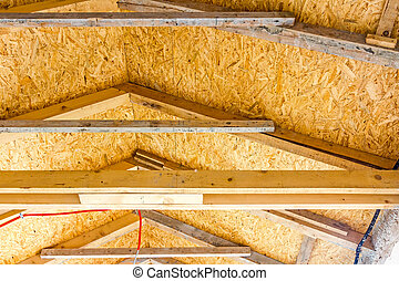 Energy saving - Thermal insulation material - plywood, roof...