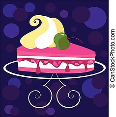 piece of cake - Is a EPS Illustrator file