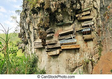 Hanging Coffins of Sagada, Philippines - Philippinos in the...