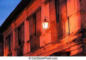 Colonial Street Chrisologo, Vigan, Philippines - Spanish...