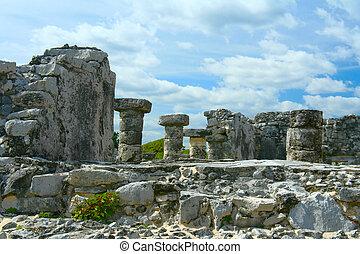 Maya, Ruinas