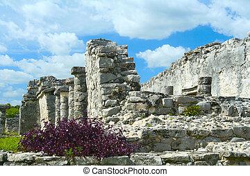 Maya, Ruinas,