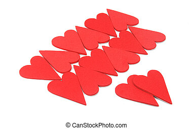 Valentines Day heart-shaped