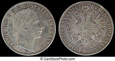 Obverse and Reverse of Austria Coin - Obverse and Reverse of...