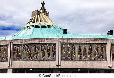 New Basilica Shrine of Guadalupe Christmas Creche Mexico...