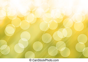 Abstraction from solar patches of light - yellow graphic...