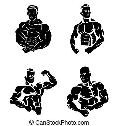 Tattoo Symbol Of Body Builder
