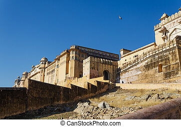 Amber Fort in Jaipur, India - Amber Fort in Jaipur,...