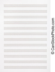 blank page of the music book - background from blank page of...