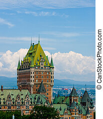 Chateau Frontenac in Quebec - Chateau Frontenac, best known...