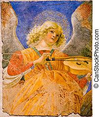 músico, anjo