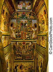 egípcio, sarcófago