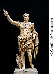 Caesar Augustus - Roman statue of emperor Caesar Augustus