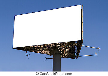 Big Blank Billboard