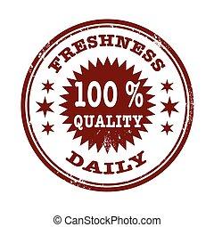freshness daily stamp