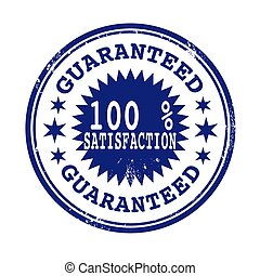 satisfaction guaranteed stamp