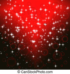 abstract red  background for Christmas
