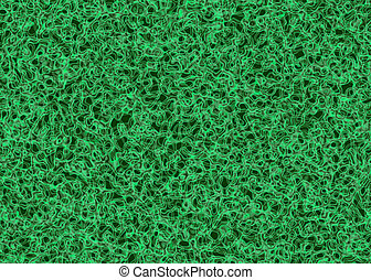 many twisted green bio cells