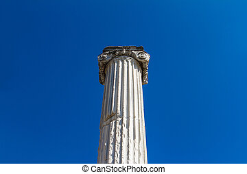 Column of Ancient City