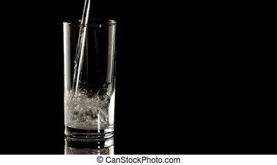 HD - Aspirin in a water glass