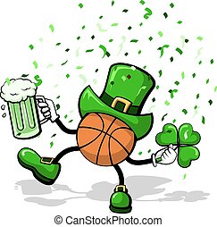 Basketball Leprechaun