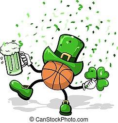 Basketball Leprechaun