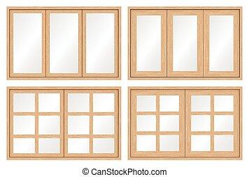 Door Window Clipart Vector Graphics 7 969 Door Window Eps