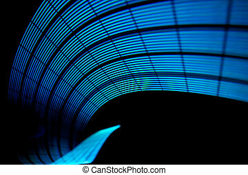 Abstract freezelight curves. Made by lights - Abstract...