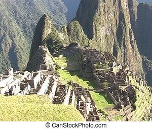 Machu Picchu city, Peru