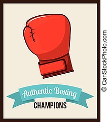 boxing emblem design, vector illustration eps10 graphic