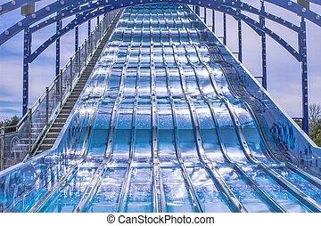 Super Slide - Large slide at a local carnival.