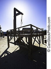 Gallows - Tabernas, Andalusia western theme park