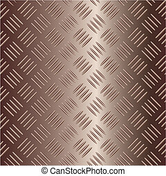 brownish vector metal plate - Digital brownish metal plate...