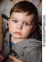 Baby boy big eyes