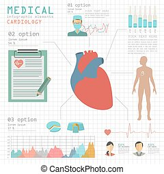 Medical and healthcare infographic,