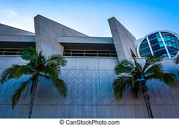 The Convention Center in San Diego, California.