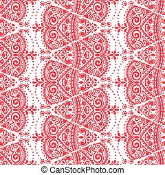 Vector lace seamless ornament - Vectoe lace seamless...