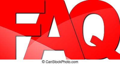 Typography FAQ - Graphic of an abstract...