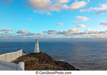 Lighthouse - Cape Spear lighthouse, Newfoundland, Canada
