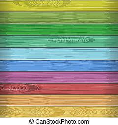 Rainbow colors wooden plane texture, nature illustration
