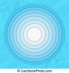 Bright Colorfull Material Design Abstract Circles Lines with...