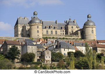 Hautefort castle is one of the most prestigious castles...