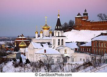 Orthodox Church and Kremlin Nizhny Novgorod