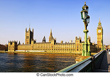 Palace of Westminster from bridge