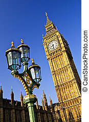 Big Ben and Palace of Westminster - Big Ben and Houses of...