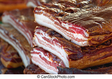 Cured Bacon Stack