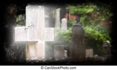 Hope of Glory Cross HD - Graveyard cross in The Old Burying...