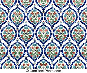 background with seamless pattern tw - Seamless pattern...