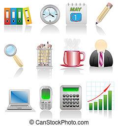 Icon set-Business - Icon...
