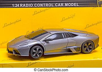 Lamborghini Reventon - Tambov, Russia - February 6, 2015:...